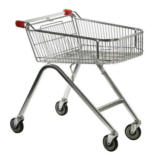Nesting Supermarket Trolley Capacity 70 Litres