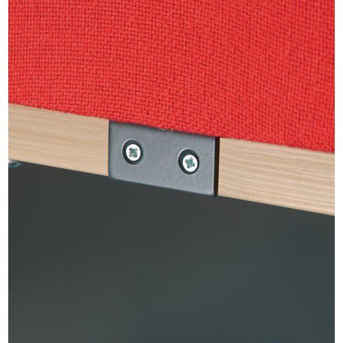 Desktop Screen Fixings Brackets Grey Wxdxh: 5 X170 X4