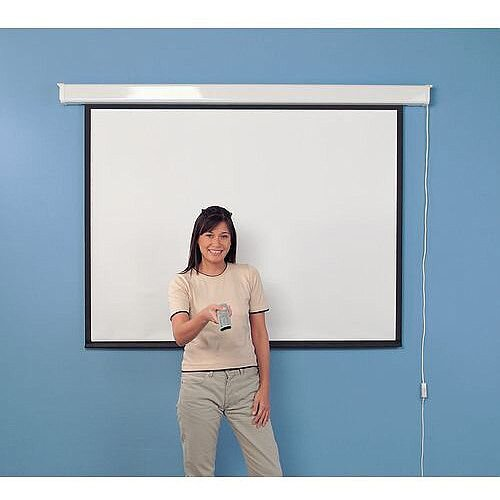 Budget Wall Projector Screen With Border 1250X1250mm