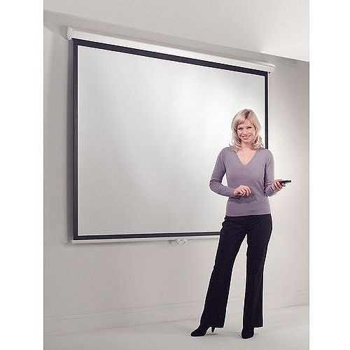 Standard Wall Projection Screen Electric 1500X2000mm
