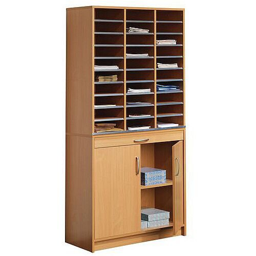 Beech Mail Sorting System With Doors