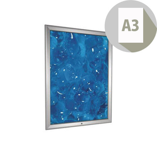 Tamperproof Secure Aluminium Snapframe A3
