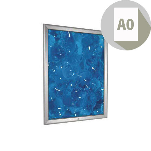 Tamperproof Secure Aluminium Snapframe A0
