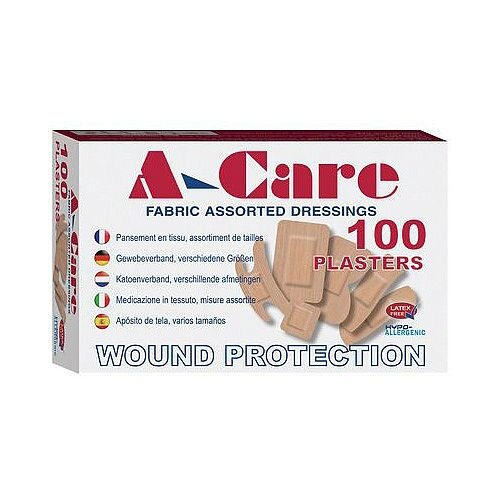 Assorted Plasters Fabric Pack of 100