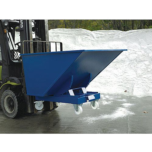 Universal Tipping Skip Volume 600 Litres Blue SY382518