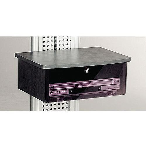 LCD And Plasma Mobile Stand Black Cabinet Infra-Red Front