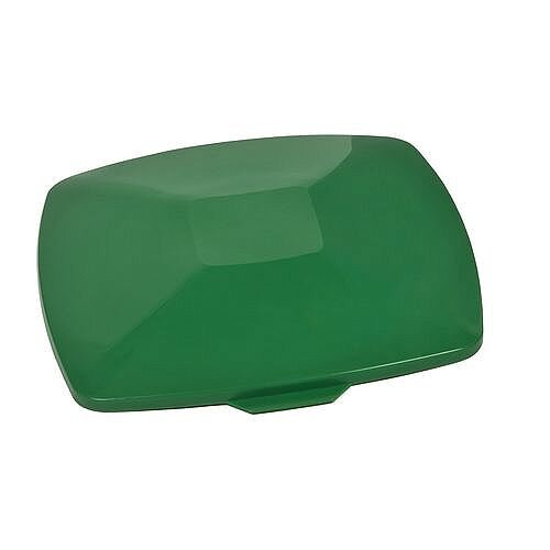 Lid For Square 40 Litre Bin Green