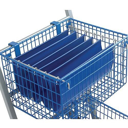Budget Mail Trolley Rods For Small Baskets