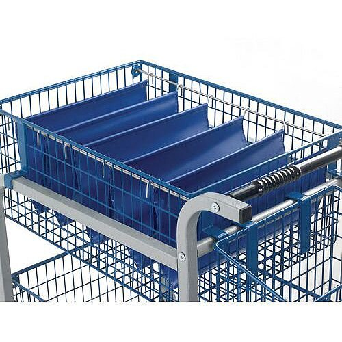 Budget Mail Trolley Rods For Large Baskets