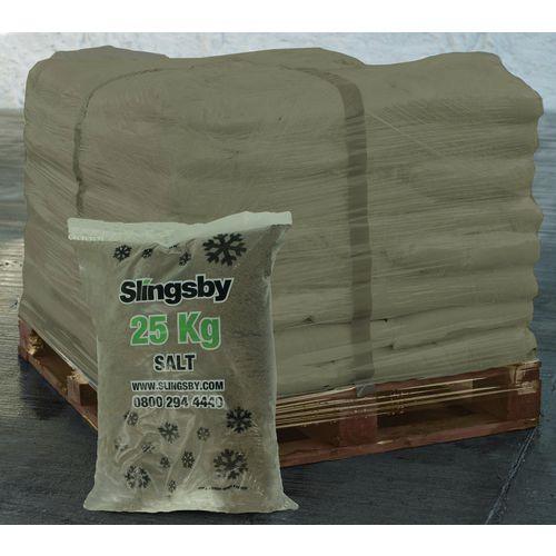 Brown Rock Salt 40x25Kg Bags