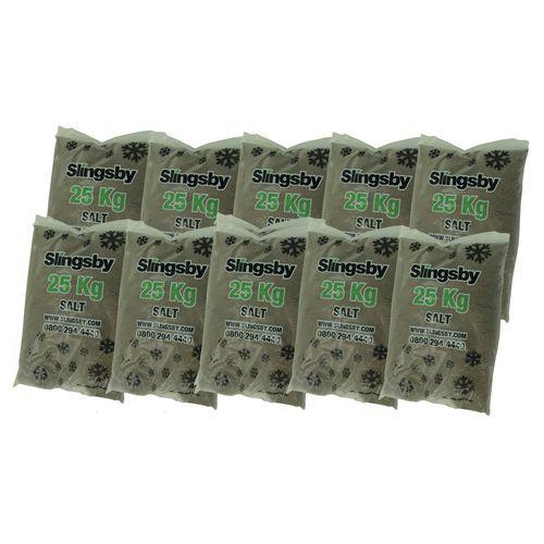 Brown Rock Salt 10x25Kg Bags