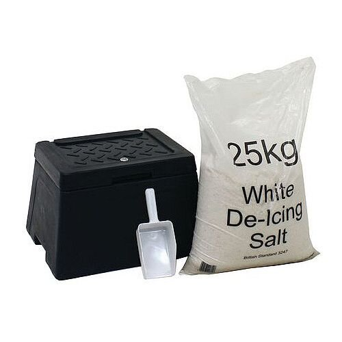 30L Lockable Mini Salt And Grit Bin Kit