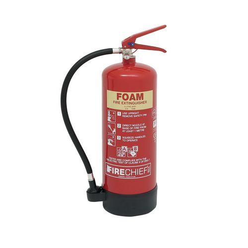 Refillable Foam Fire Extinguisher 6L