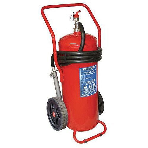 Wheeled Powder Extinguisher 50L