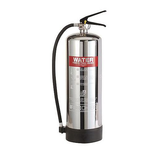 Stainless Steel Water Extinguisher 9L