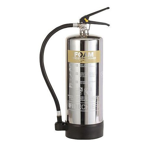 Stainless Steel Foam Extinguisher 6L