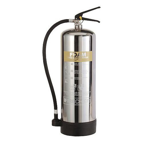 Stainless Steel Foam Extinguisher 9L