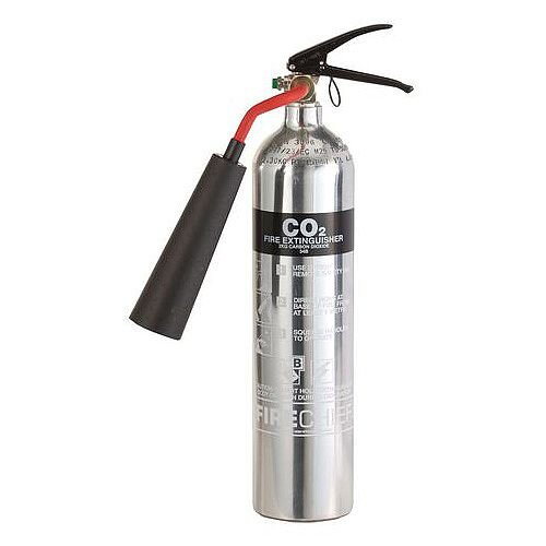 Polished CO2 Fire Extinguisher 2L
