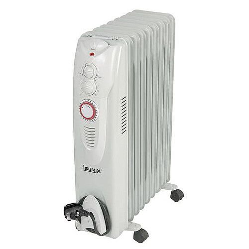 Oil Filled Radiator 2Kw / 9 Fin With 24Hr Timer