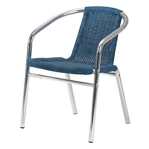 Cafe Furniture Tables Armchair Blue