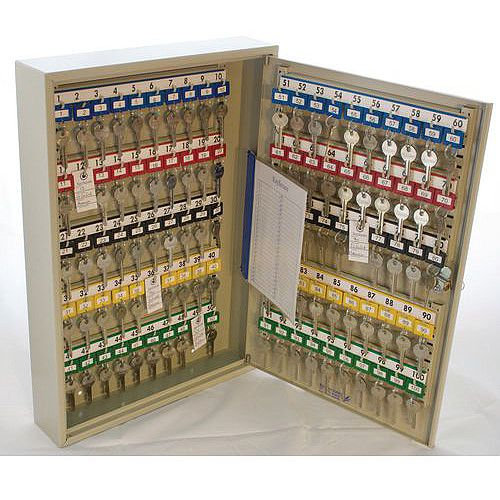 Key Cabinet With Electronic Cam Lock 100 Key Capacity