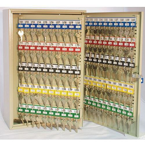 Key Cabinet With Electronic Cam Lock 300 Key Capacity