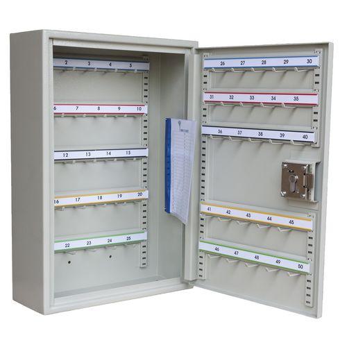 Key Cabinet Euro Locking 50 Key Capacity