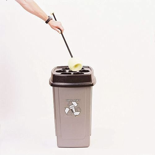 Cleaning Mop For Disposal Cup Bin