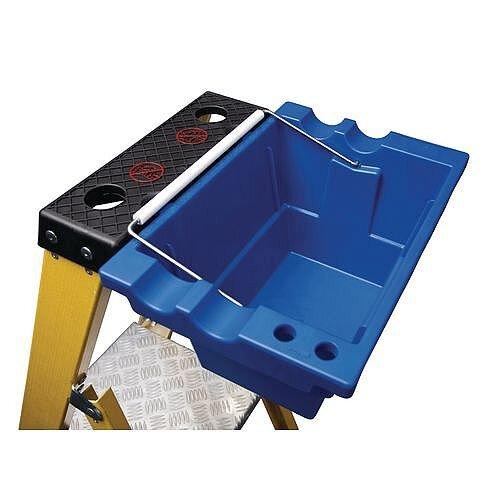 Job Bucket Deep Plastic Tray with Carry Handles