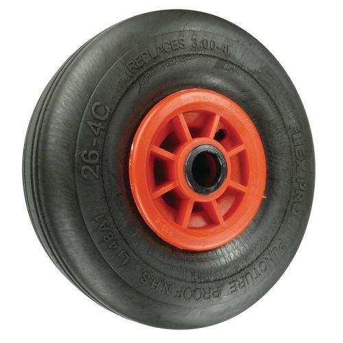 Puncture Proof Wheels Load Capacity 200kg Bore 25mm Roller Wheel Diameter 260mm