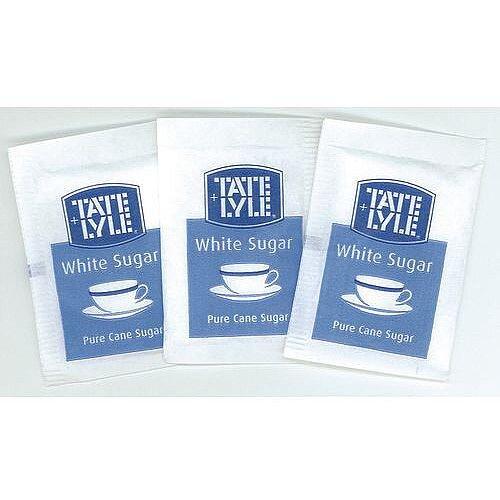 Tate &Lyle Sugar Sachets White Pack 1000 Sachets