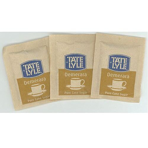 Tale and Lyle Sugar Sachets Brown Pack 1000 Sachets