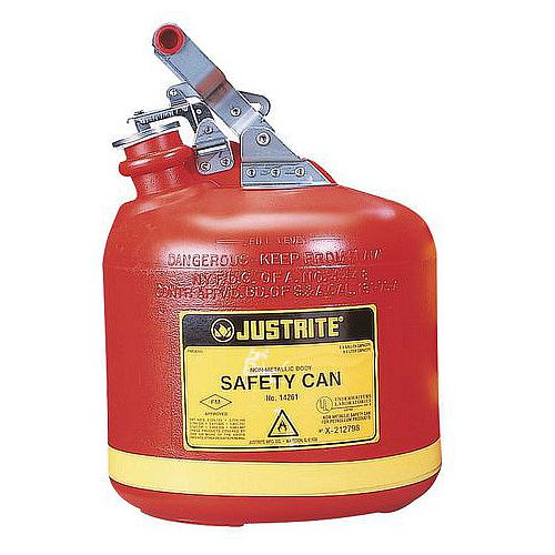 Polyethylene Safety Can 18.92L Capacity