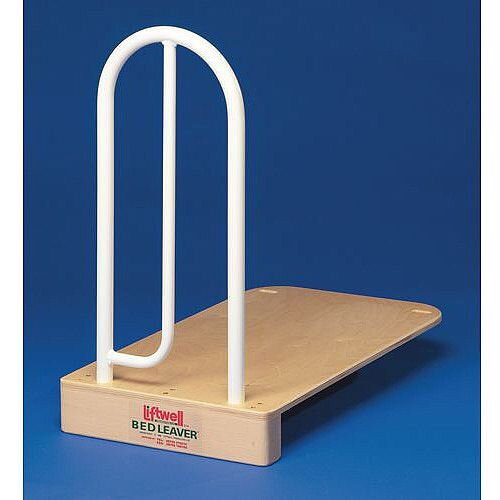 Bed Grab Rail With Wooden Baseboard
