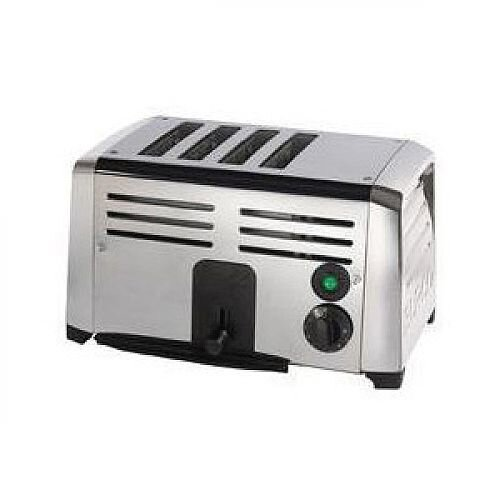 Commercial Stainless Steel Toaster 4 Slots