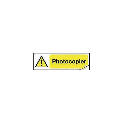 Plug Socket Prohibition &Warning Sign Photocopier