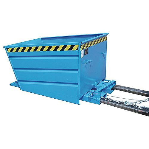 Automatic Tipping Skip/Container Blue Capacity 1000kg SY386330