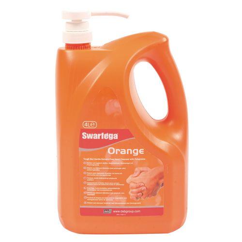 Swarfega Orange Hand Cleaner 4L Pack 4