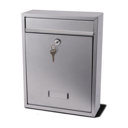 Trent Modular Post Box Silver