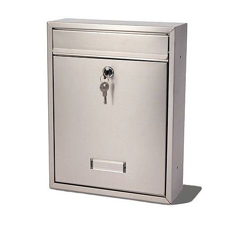 Trent Modular Post Box Stainless Steel