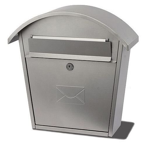 Humber Classic Post Box Silver