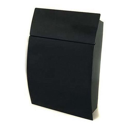 Tweed Secure Post Box Black