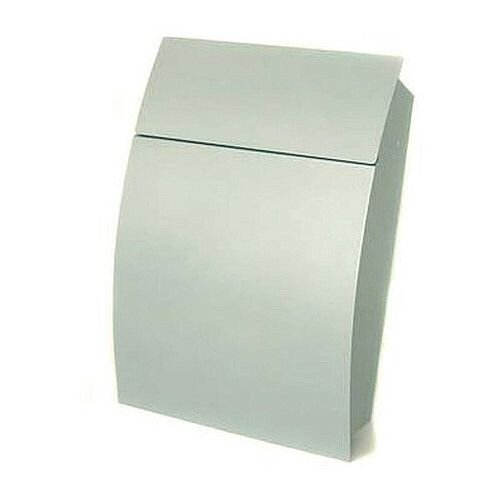 Tweed Secure Post Box Silver