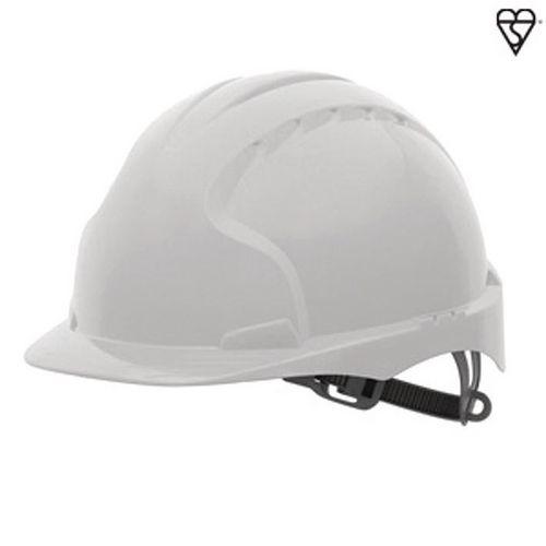 JSP Evo3 Safety Helmets Hard Hat White