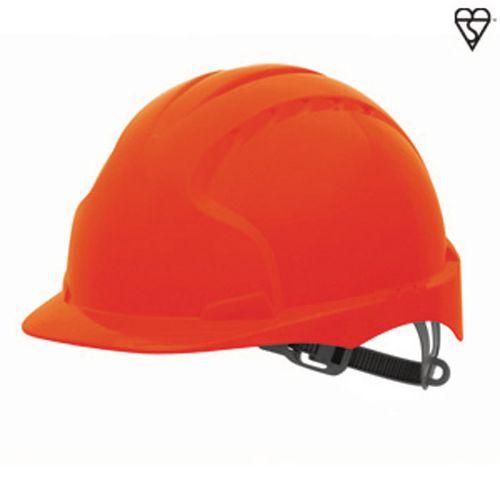 JSP Evo3 Safety Helmets Hard Hat Red