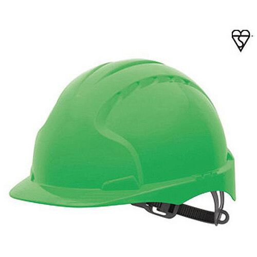 JSP Evo3 Safety Helmets Hard Hat Green