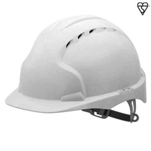 JSP Evo3 Safety Helmets Vented Hard Hat White