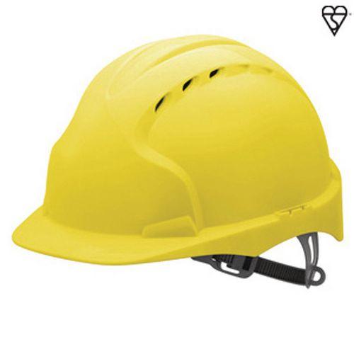 JSP Evo3 Safety Helmets Vented Hard Hat Yellow