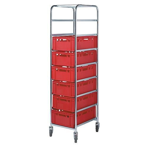 Bin &Tray Trolley With 8 Levels Height 845Mm 150kg