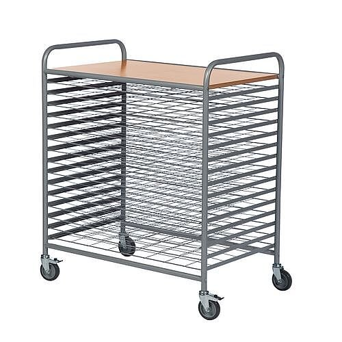 Drying Trolley With 15 Levels No Of Shelves 16